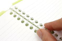Kokuyo Campus Smart Ring Binder Notebook - B5 - 26 Rings - Yellow Green - Bundle of 3 - KOKUYO RU-SP700YG BUNDLE