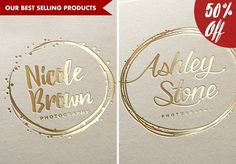 50% OFF!! 4 logo pack - best sellers by DesignLux on @creativemarket