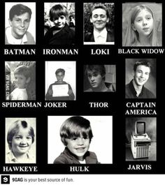 Superhero as a kid