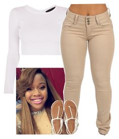 """""""House Party-Mia ✨"""" by newtrillvibes ❤ liked on Polyvore featuring Aéropostale"""