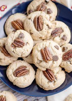 Candy Cookies, Cookie Desserts, No Bake Desserts, Sugar Cookies, Cookies Et Biscuits, Cookie Recipes, Delicious Desserts, Dessert Recipes, Cookies