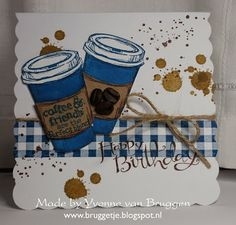 Yvonne's Stampin' and Scrap Blog: Stampin' Up! Coffee card