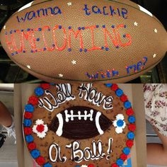 Way to ask someone to homecoming! #homecoming
