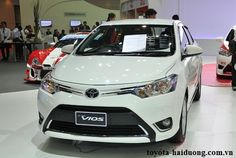 Toyota Vios 2016 màu trắng (040) - Toyota Hải Dương