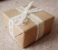 Neroli Blossoms: Brown Paper Packages Tied Up With String