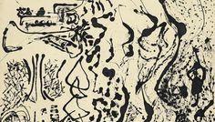 "Number 5, 1951 ""Elegant Lady"" by Jackson Pollock"