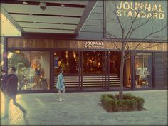 Another Japanese import. This is Journal Standard's flagship store in Beijing