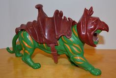VINTAGE MOTU BATTLE CAT LOOSE ACTION FIGURE COMPLETE HE-MAN MASTERS UNIVERSE #Mattel