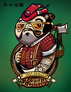 Profesiones / Professions by ChocoToy , via Behance