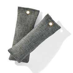 Clear the air with a clear conscience with our Mini Moso Charcoal Deodorizers. They're a naturally safe solution to absorb odors, bacteria, pollutants, allergens, mold and mildew from enclosed areas. Use them in storage boxes, hanging bags, trunks, drawers or inside shoes and the air in those environments will be completely neutralized in about a week. You'll have pure air without the need for chemicals or artificial scents because these sachets are completely fragrance free and non-toxic.