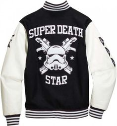 Star Wars x adidas Originals - Super Death Star Stormtrooper Varsity Jacket