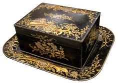 # 2760 Chinoiserie Box and Tray