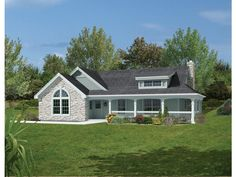 craftsman style house plans - 966 square foot home, 1 story, 2