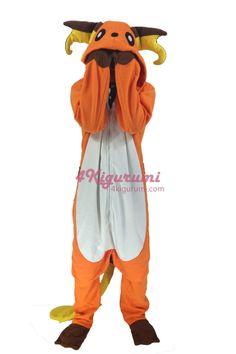 Pokemon Raichu Onesie Halloween Pajamas 0e4f9099b