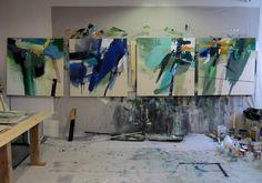 Lee Kaloidis Painting Studio & Gallery by Lee Kaloidis, via Flickr