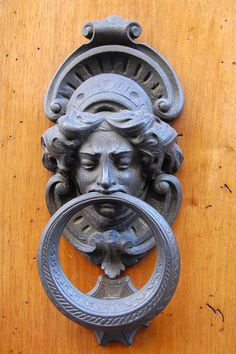 Door Knocker in Florence, Italy