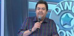 """Fausto Silva se irrita após erro de Felipe Dylon em quadro do """"Domingão"""" #Atriz…"""