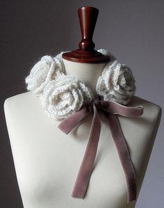 FIVE ROSES - Crochet Cowl/Neckwarmer  by silvia66, via Flickr