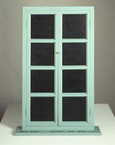 Marcel Duchamp - Fresh Widow 1920 / 1964 Bois peint, cuir 79,2 x 53,2 x 10,3 cm