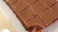 Kefírový blesk s čokoládou a kyslou smotanou: Úžasný šťavnatý koláč pripravený za 10 minút – pre moju rodinu číslo 1! Kefir, Recipes, Food, Essen, Meals, Ripped Recipes, Yemek, Cooking Recipes, Eten