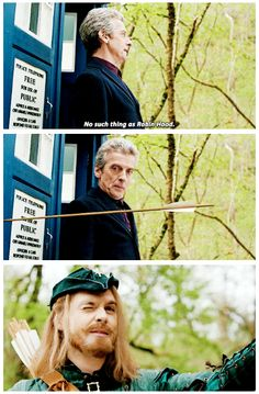 Doctor who, Robot of Sherwood