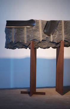 Stone Sculpture at the Noguchi Museum - Basalt, Marble and Granite Sculptures of Isamu Noguchi - Nalata Nalata