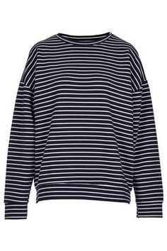 Stripe Ribbed Sweat by Boutique - Boutique - Clothing