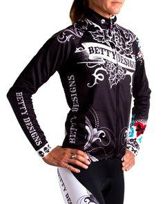 Betty Designs longsleeve tattoo jersey
