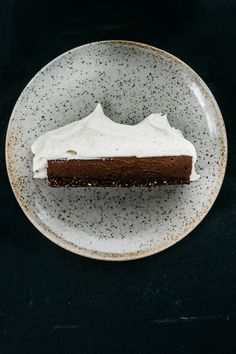 Coffee Chocolate Tart with Cardamom Mascarpone | TENDING the TABLE