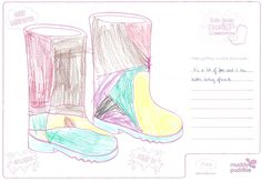 Lea-Sophie (age I like getting muddy because it's a lot of fun and I love bubble bathing afterwards. Design Competitions, Rain Boots, Bathing, Bubbles, Age, My Love, Bath, Swim, Rain Boot