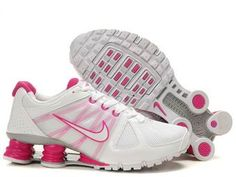 best website 34dd0 c55c4 Nike Shox Turbo Women s White Pink For Sale