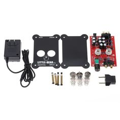Only US$29.86, us 110v HiFi Tube Stereo Audio Headphone Amp Amplifier Preamplifier