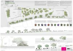 Primer lugar en concurso de remodelación de Plaza Portugal en Montevideo,Lámina 02. Image Cortesía de Equipo Primer Lugar