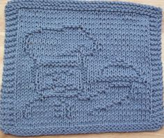 Free Pattern Knitting Dishcloth | Chef Too Knit Dishcloth Pattern