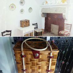 Limpieza cesto antiguo. maderademindi.blogspot.com.es #restauracion #limpieza #decor #diy #creative #mimbre #ideas #desing #color #nuevosproyectos #modernizando