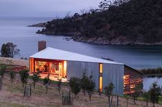 Winner: Australian House of the Year - Shearer's Quarters (The place where the workers stay while shearing sheep) by John Wardle Architects TAS. Houses magazine's Houses Awards 2012.