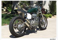 Mule Motorcycles' Yamaha 750