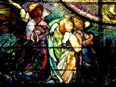 "William Morris Fan Club: Need and Sorrow and the ""Angel of Help"" -- John La Farge"