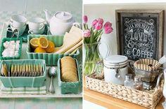 Para receber com charme e incorporar o cantinho do café na decoração da sua casa, separamos inspirações e tendências de decor