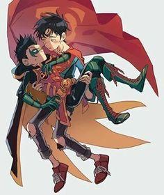 "my gallery📷 ""yaoi"" Robin Starfire, Superhero Kids, Best Superhero, Damian Wayne, Beast Boy, Nightwing, Batgirl, Batman Y Superman, Robin Dc"