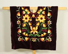 Tehuana top: mexican tunica style Frida Kahlo, beautiful