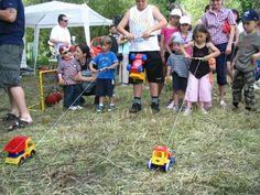 Pro děti byly připraveny zajímavé soutěže.