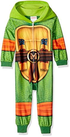 Nickelodeon Little Boys Toddler Ninja Turtles Uniform Union Suit Green 4T * You can find out more details at the link of the image-affiliate link.