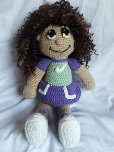Crochet Rag Doll by NanasGranddaughter on Etsy