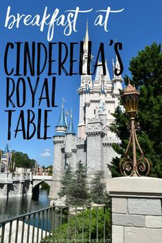 If you're headed to the Magic Kingdom any time soon, be sure to book a breakfast at Cinderella's Royal Table!  We loved this magical Disney experience!