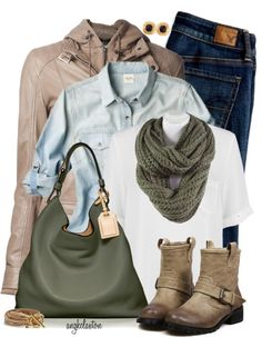 'Layers to Love' fall outfit