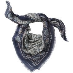 Square Vintage Printed Scarf (870 RUB) ❤ liked on Polyvore featuring accessories, scarves, hats scarves and gloves, sciarpe, viscose scarves, vintage scarves, vintage shawl, square scarves and fat face