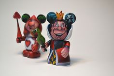 Queen of Hearts and Guard Jared Circusbear Custom Vinylmation