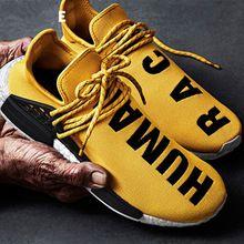 2016 Automne Vente Chaude Haute Qualité Pharrell Williams X Mode Respirant Humains Course Casual Chaussures Taille de L'ue 36 ~ 45(China (Mainland))