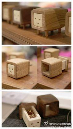 owl【木石姻缘】日本的conocoto制作的这些迷你小抽屉ChibiDashi. 可以装些项链戒指的,很可爱吧!